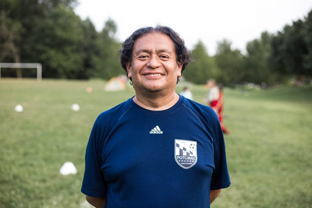 Photo of Coach Rene San Martin