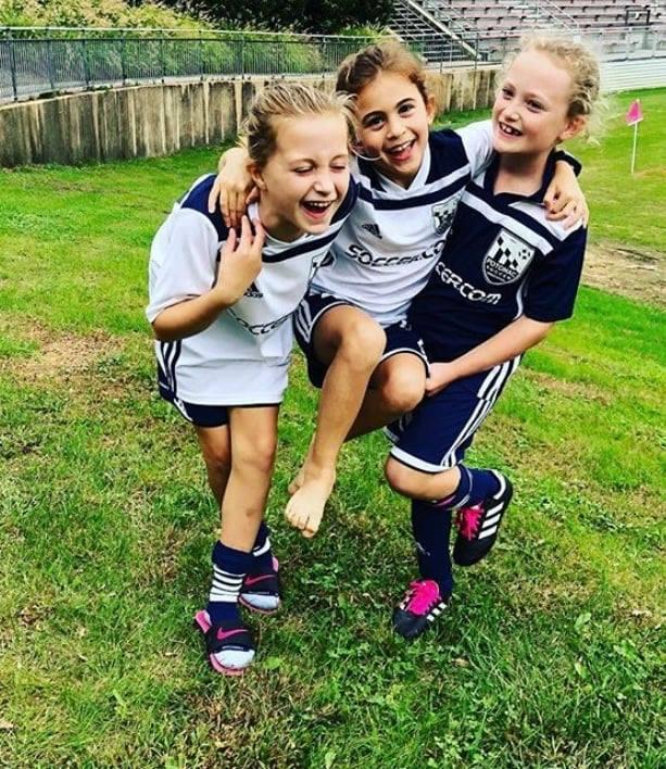 girls after soccer game